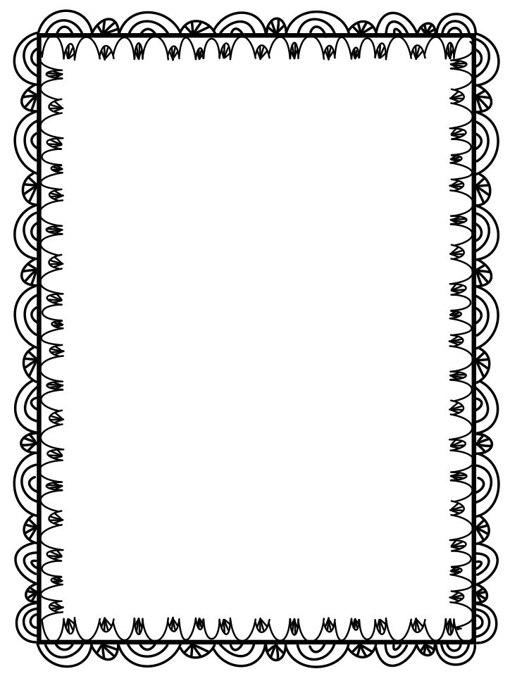 Elegance  clipart top page border To you on computer in