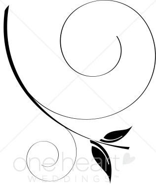 Elegance  clipart vine leaves Black Clipart Leaf Leaf and