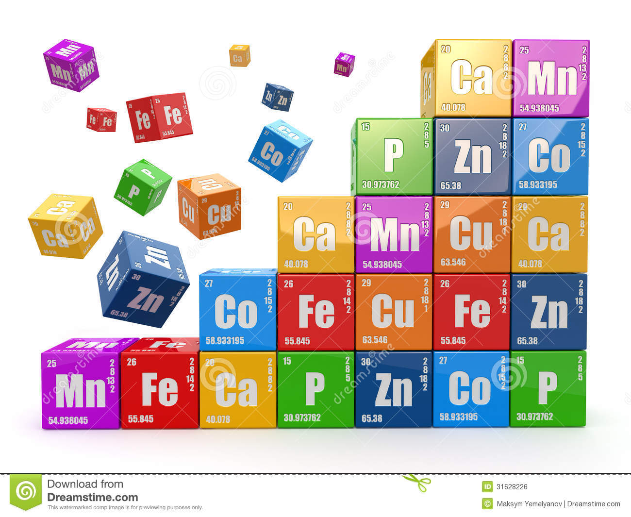Elements clipart Periodic Periodic Table Savoronmorehead Vectors