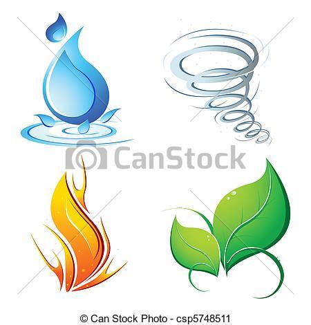 Element clipart Vector four  illustration Element