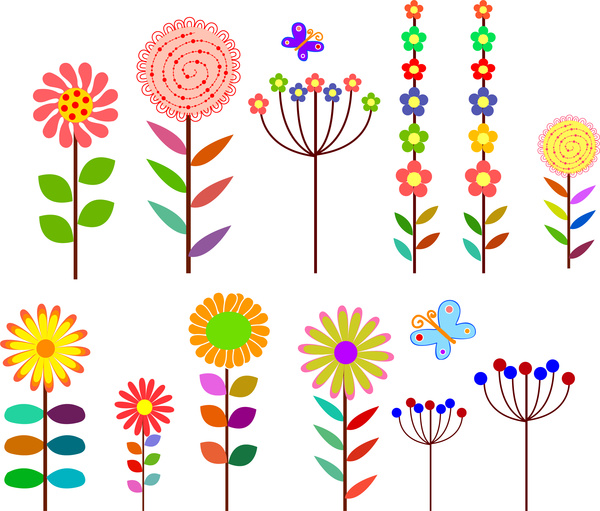 Element clipart cartoon Flower vector (212 Free download