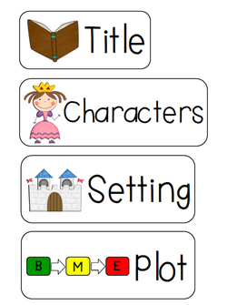 Elements clipart character story #2