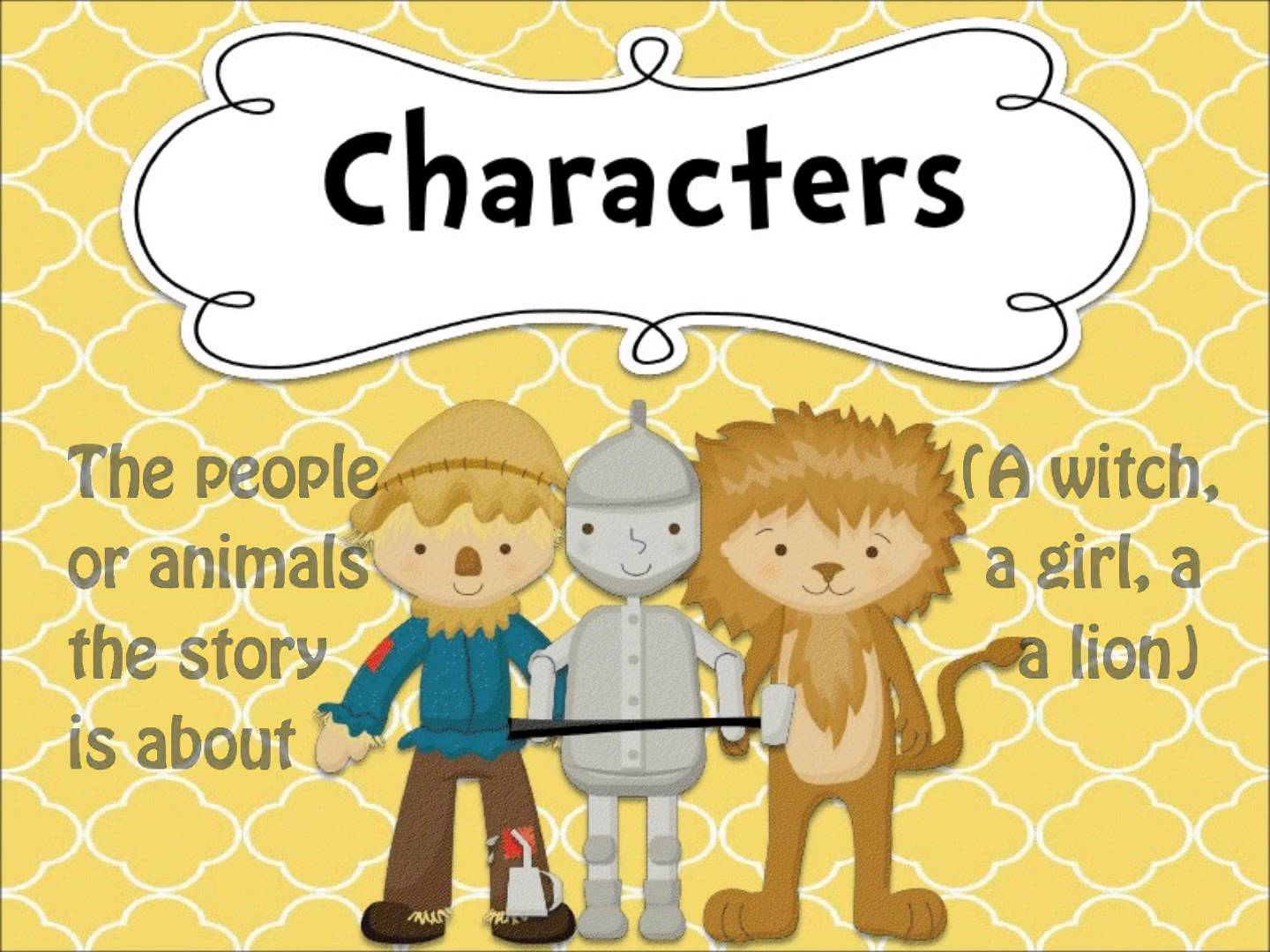 Elements clipart character story #5