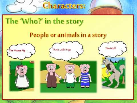 Elements clipart character story #15