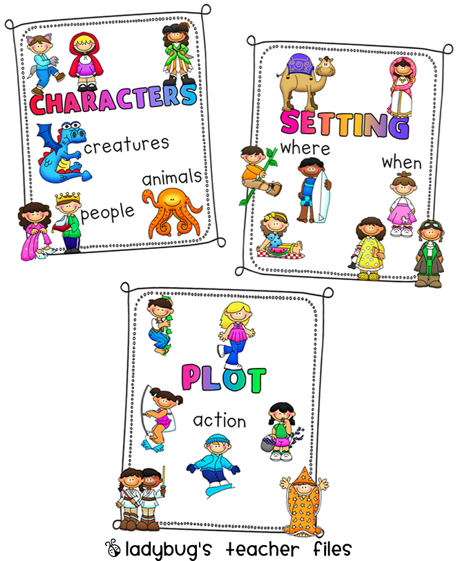 Element clipart character story #1