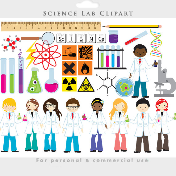 Crystal clipart science Microbe lab vials scientists art