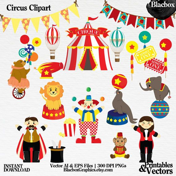 Element clipart circus Elements scrapbooking pack This B…