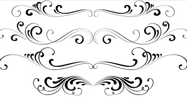 Element clipart decorative Decorative Elements Elements fleurons and