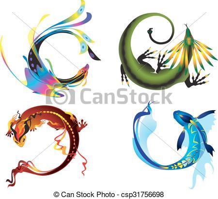 Elements clipart symbol #1