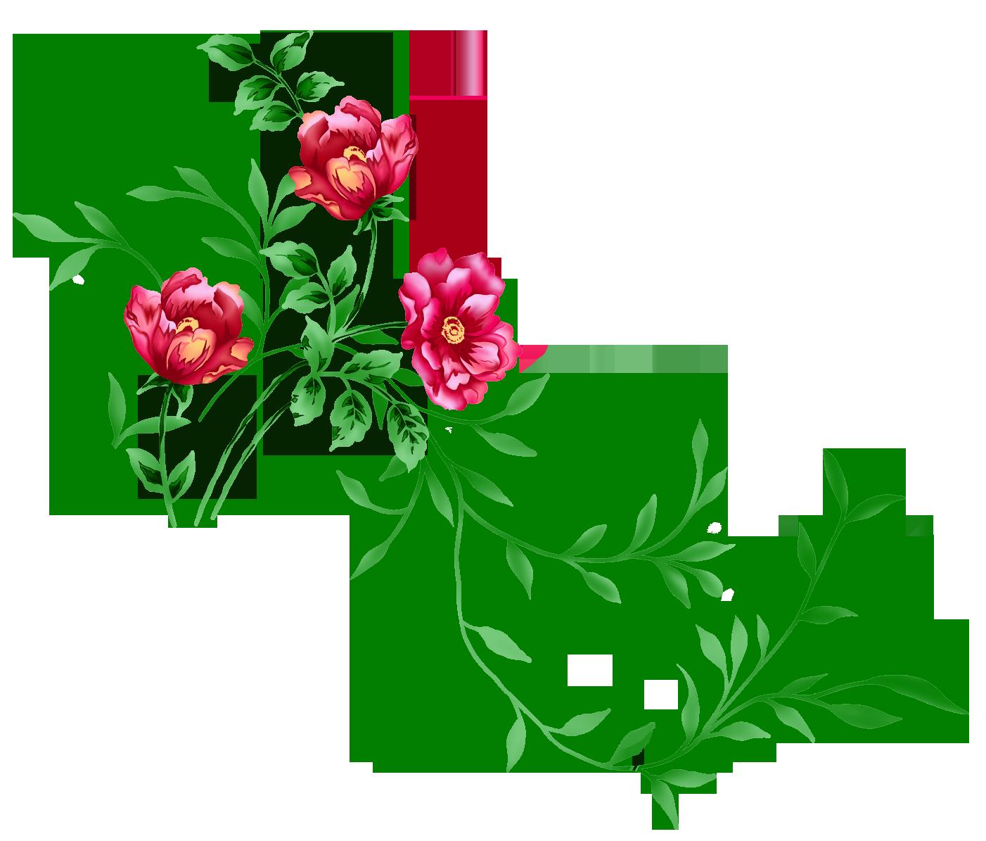 Element clipart floral decoration Floral Clipart Floral PNG Transparent