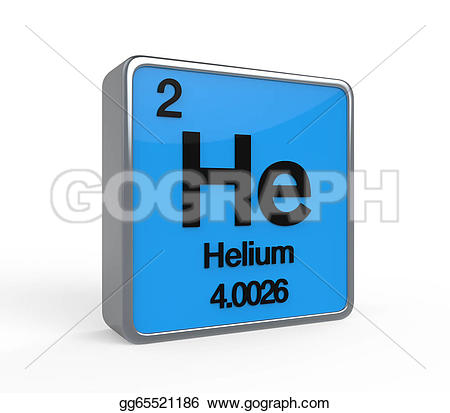 Element clipart helium Helium 3d on Clipart table