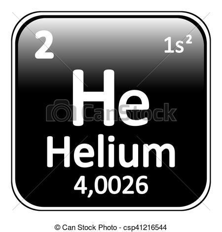 Element clipart helium Helium icon element csp41216544 element