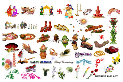 Elements clipart indian wedding Wedding  in Backgrounds: on