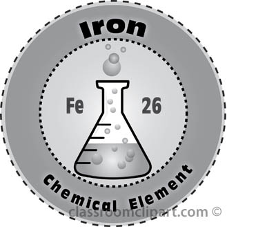 Element clipart iron : Classroom Clipart Elements Chemical