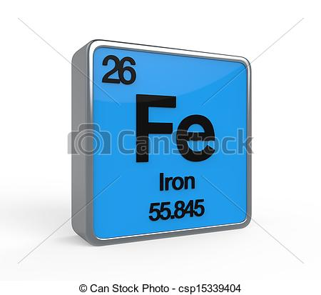 Element clipart iron Element golden Art of Iron
