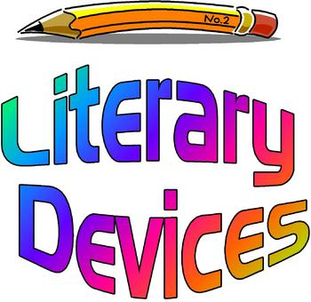Element clipart literary device 20: Metaphor Posters Literary Set