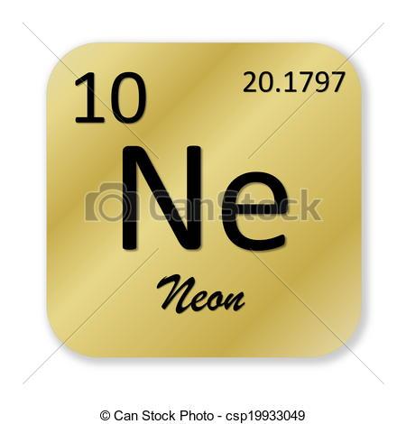 Element clipart neon Neon  csp19933049 of element