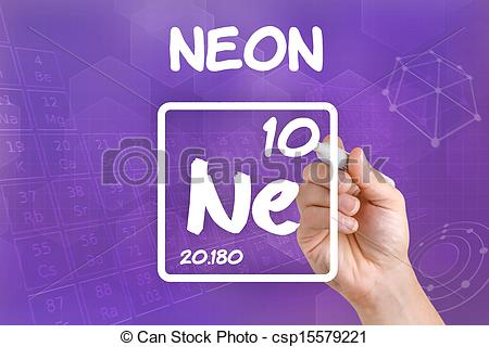 Element clipart neon Stock Clip chemical neon Symbol