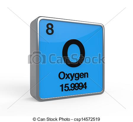 Element clipart oxygen Illustrations Periodic Oxygen  Periodic