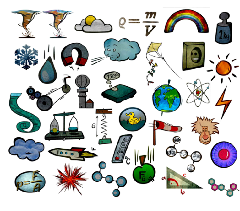 Plasma clipart physical science #12