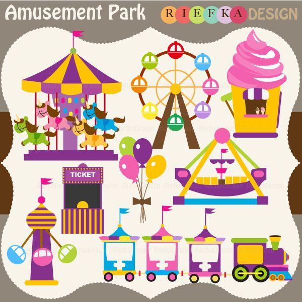 Amusement Park clipart theme park Of Park for Perfect Elements