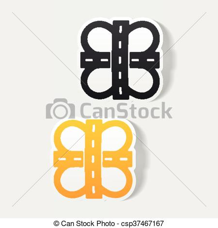 Element clipart road Clip csp37467167 design element: Vector