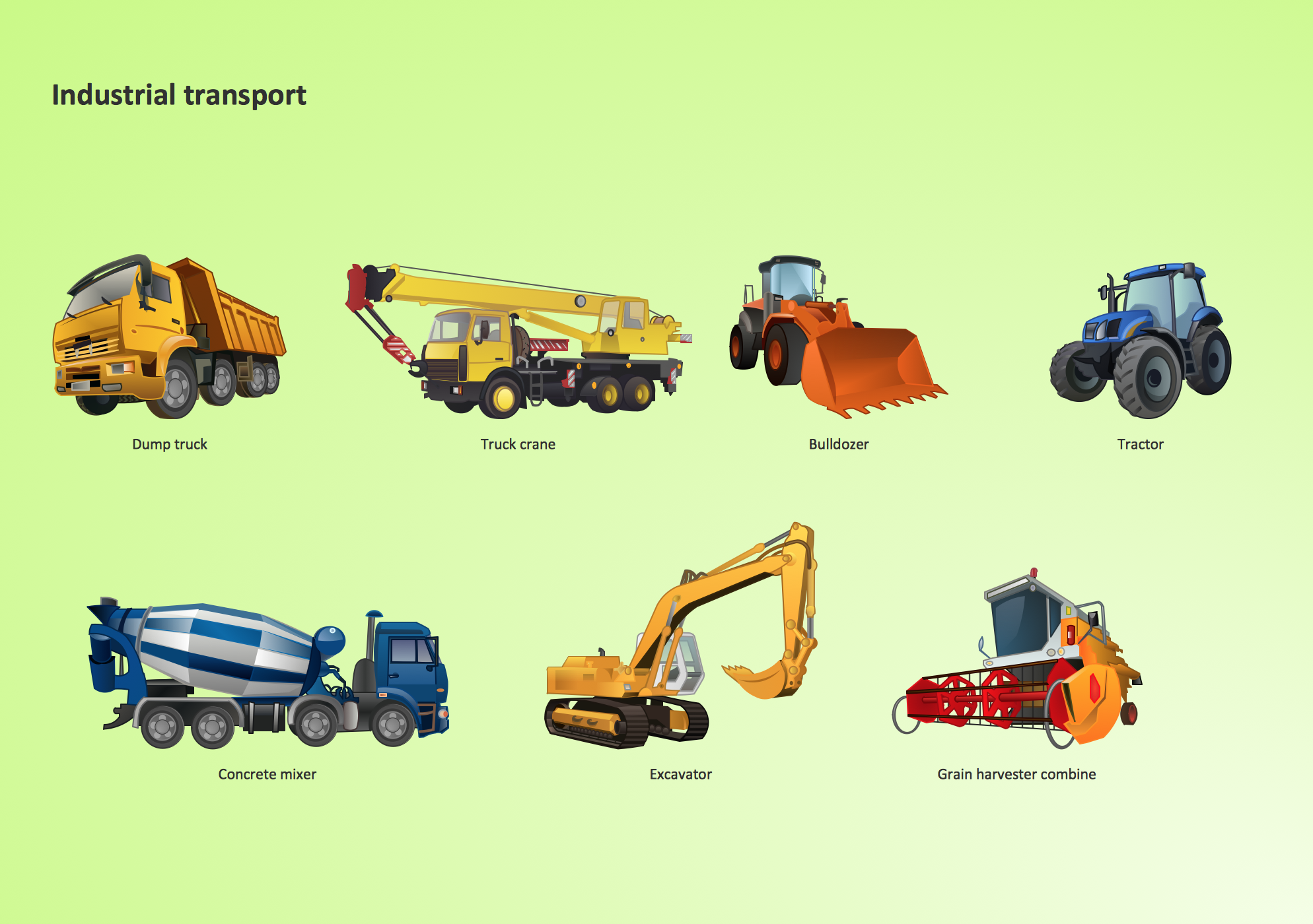 Element clipart road Industrial transport Design Elements clipart