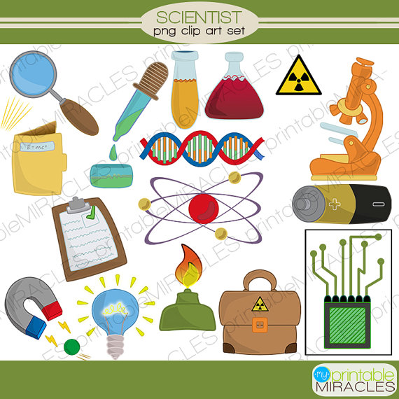 Element clipart science Clipart digital Clipart Mad download