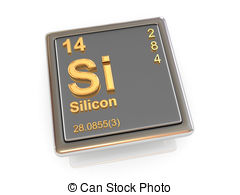 Element clipart silicon Chemical Silicon Illustrations 708 royalty
