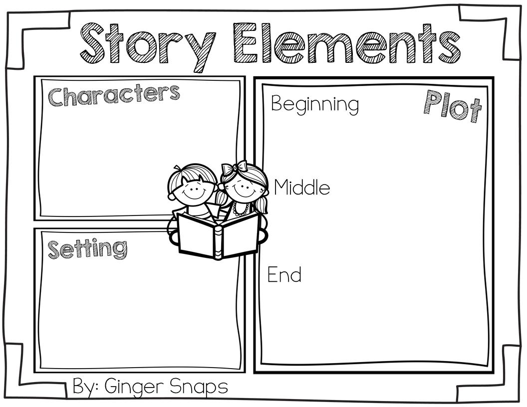 Element clipart story map Freebie Story Snaps Elements Freebie