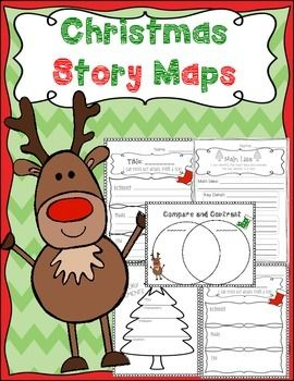 Elements clipart story map Map ideas Christmas Compare template