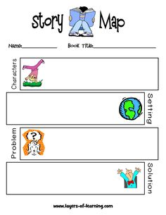 Element clipart story map Be Pin a and Can