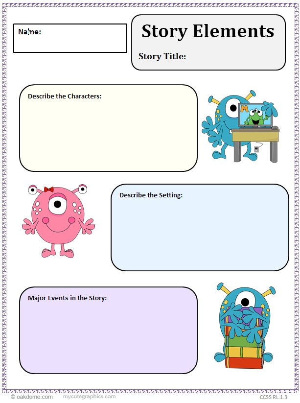 Community clipart story setting Organizer K Story  Graphic