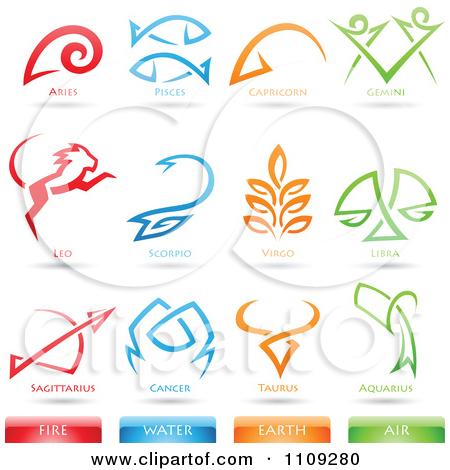 Zodiac clipart astrological sign Fire Star Clipart Fire Clipart