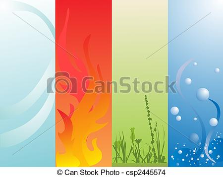 Elements clipart air Art (67+) water Elements Four