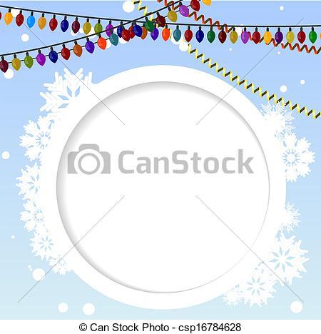 Element clipart winter Circular Vector  element the