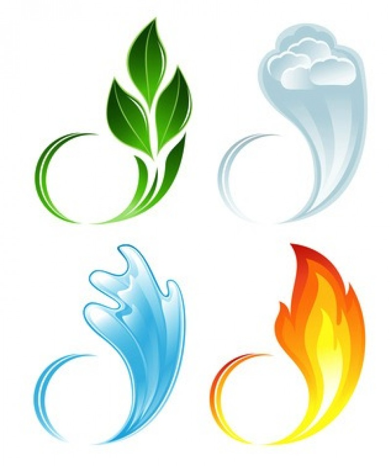 Elemental clipart Tattoo And Water  Earth
