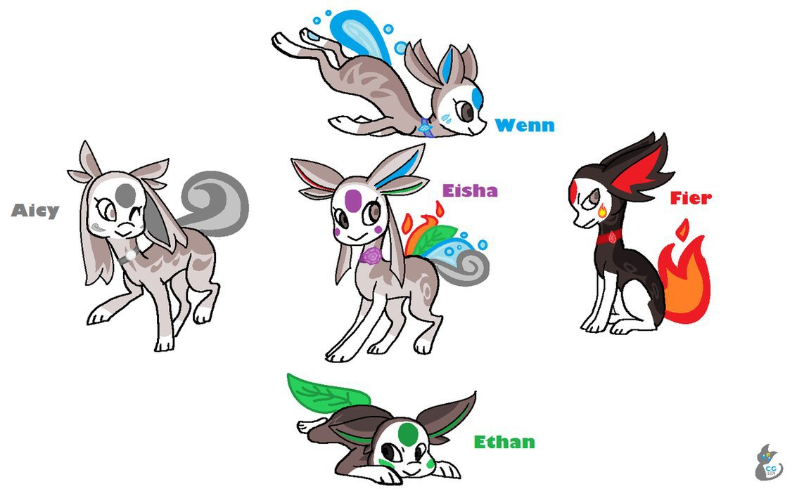 Elemental clipart character story #6