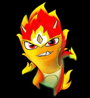 Elemental clipart color SlugTerra Fire Elemental Fire Elemental