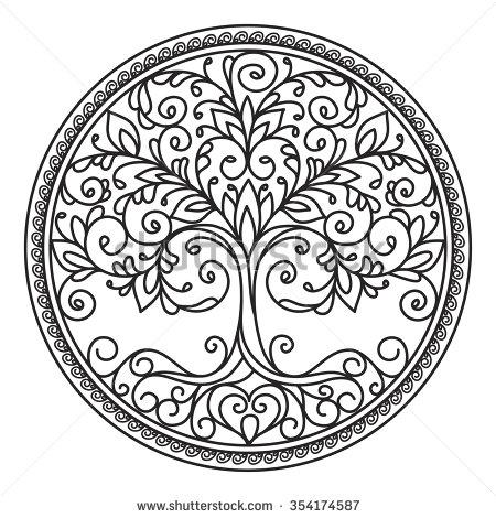 Elemental clipart decoration vector Pinterest illustration black elements circle