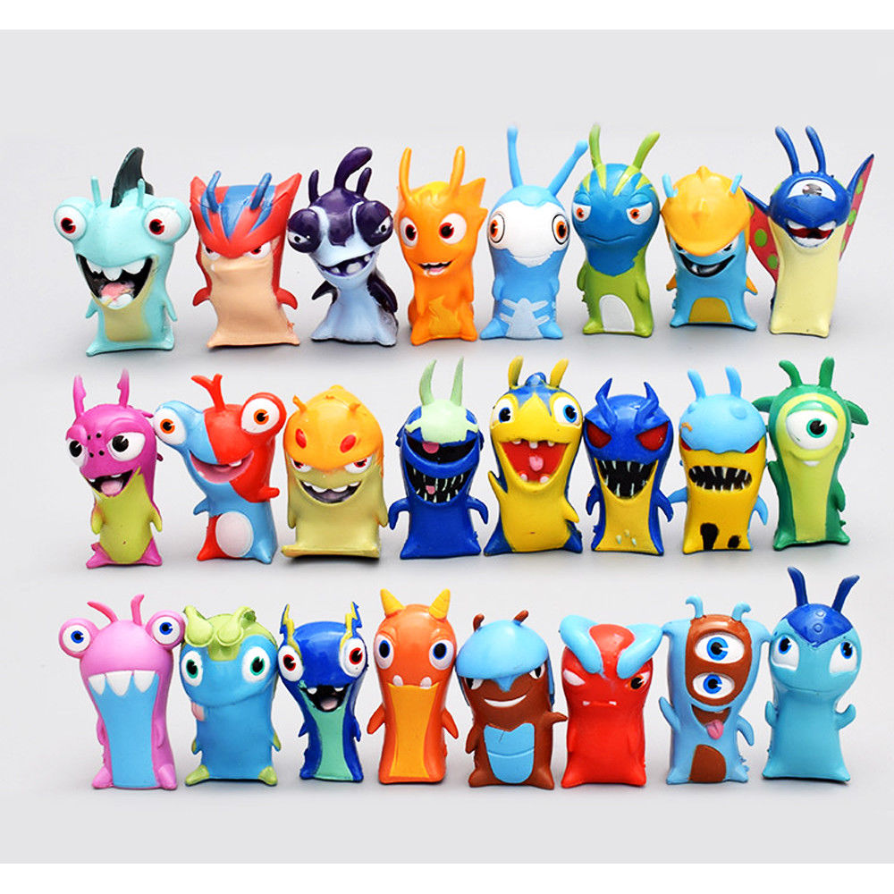 Elemental clipart decorative Slugs Doll Toy Action set