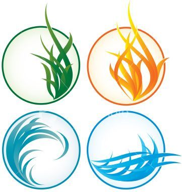 Elemental clipart fire and water Elements Pinterest images on