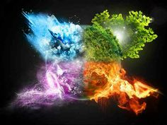 Elemental clipart fire and water Elementals by Fire V2 Elements: