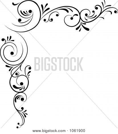 Elemental clipart floral Design Flower Vector Element Filigree