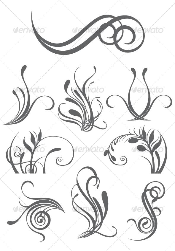 Curl clipart design pattern Design forearm?? the elements