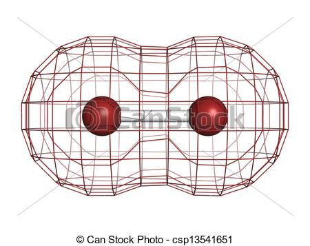 Elemental clipart graphic Illustrations model  molecular molecular