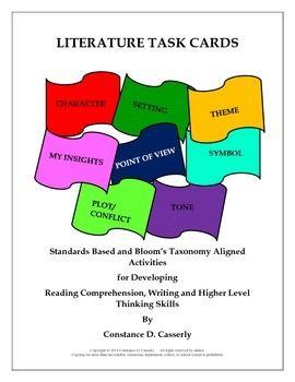 Elemental clipart literary analysis 17 Task Activities Analysis Reading
