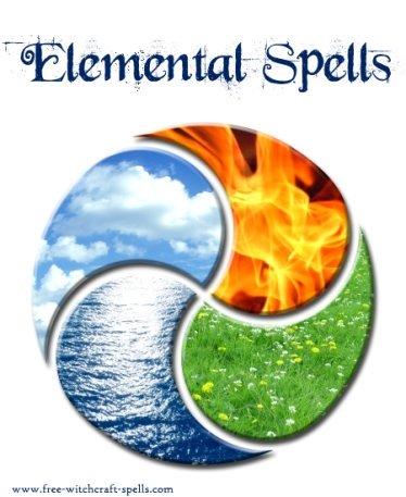 Elemental clipart natural element Elemental  Magic Spells