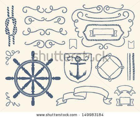 Elemental clipart nautical Pinterest about Vectors Fonts images
