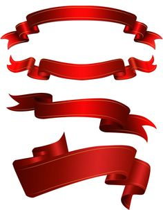 Elemental clipart ribbon banner template Red Check Bow bazaardesigns ·